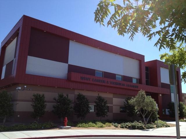 West Career & Technical Academy (John Locher, Las Vegas Review-Journal)