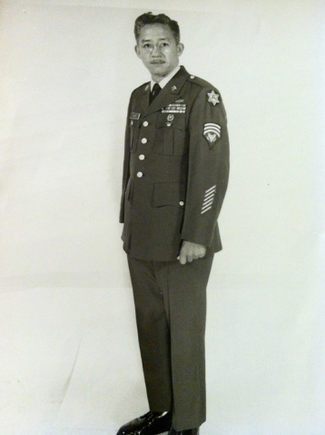 Eugen Ramos pictured in 1968. Courtesy of the Ramos Family