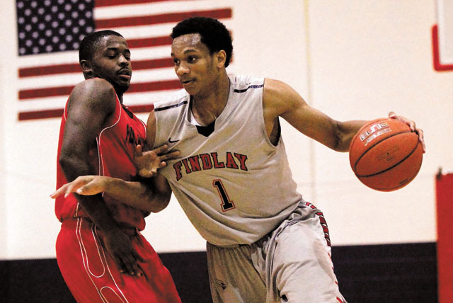 Rashad Vaughn, right, proved to be a valuable recruiter when it came time for Jordan Cornish to decide where he would attend college. (Jason Bean/Las Vegas Review-Journal)