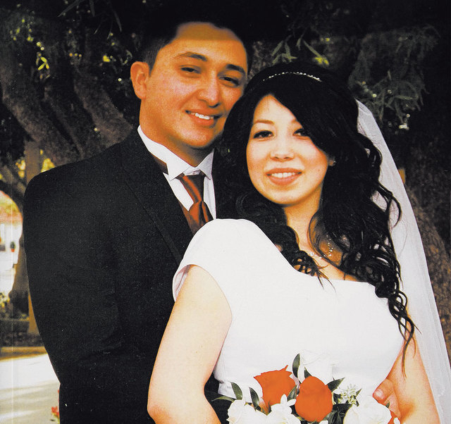 A family photo shows Ruben White with his wife, Vanessa, who died of tuberculosis at Summerlin Hospital in May 2013. (Courtesy)