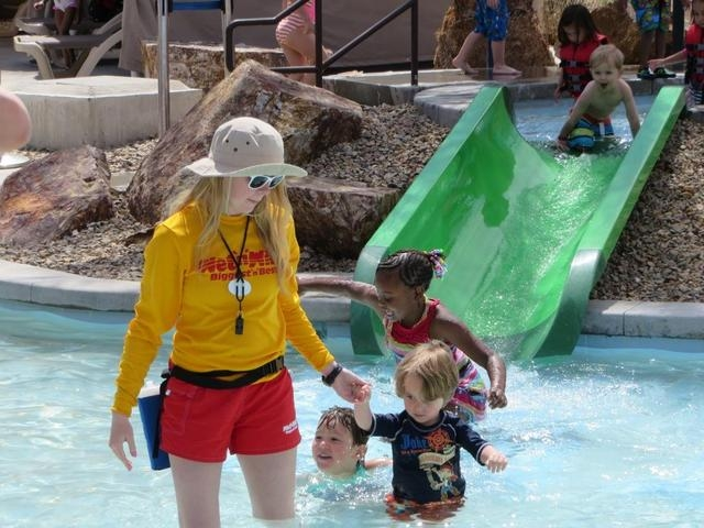 Communities in Schools of Nevada and After-School All-Stars Las Vegas partnered to host Splashdown for Kids April 26 and 27 at Wet 'n' Wild, 7055 S. Fort Apache Road. Proceeds benefit both nonprof ...