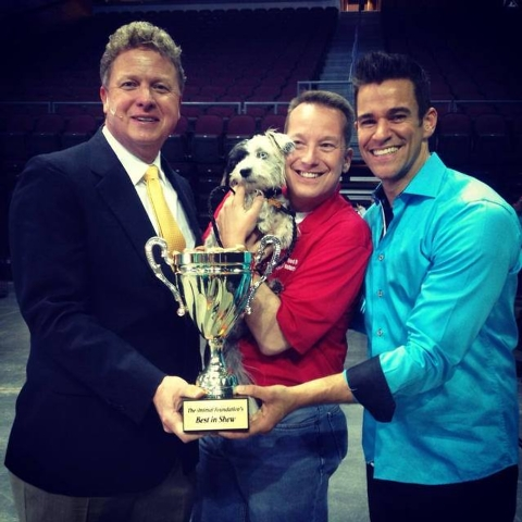 Jackson was the official winner, but since more than 50 dogs got new homes, and the Animal Foundation raised $215,000 to save the lives of other dogs, then they are (of course) all winners. (Court ...