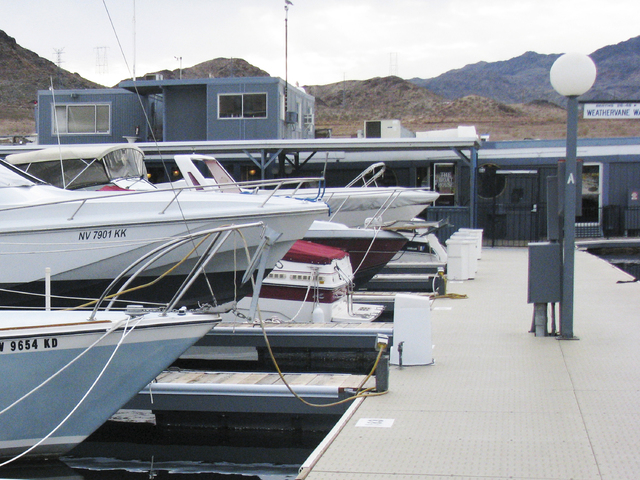 The office on the roof of what is now the The Las Vegas Marina on January 25, 2010. During the filming of Viva Las Vegas, it was decorated to be the set for Ann Margret's home. (F. Andrew Taylor/R ...