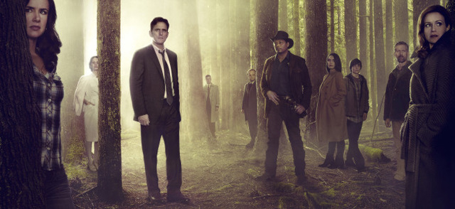 "Based on a best-selling novel and brought to life by M. Night Shyamalan (""The Sixth Sense""), WAYWARD PINES is a 10-episode thriller starring Academy Award nominee Matt Dillon (""Crash"") as  ..."