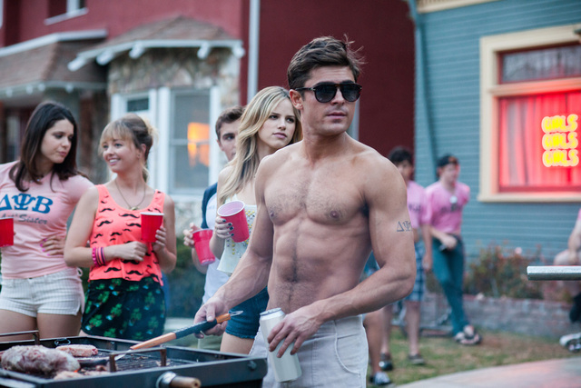 "Zac Efron stars as frat president Teddy Sanders in ""Neighbors."" (Courtesy)"
