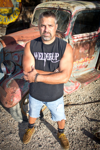 "Steve Darnell of ""Vegas Rat Rods."" (Courtesy Discovery Channel)"