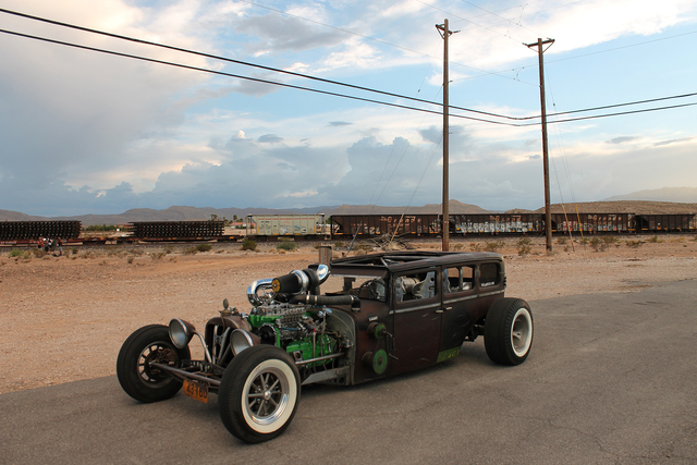 "The ""D-Rod, a custom 1928 Dodge Brothers, is featured on ""Vegas Rat Rods."" (Courtesy Discovery Channel"