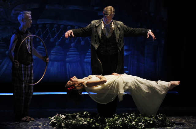 """A scene from """"The Tempest's"""" world premiere at The Smith Center in April. R-J photo by Jason Bean."""