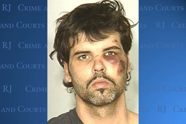 This is the booking photo of Harold Montague provided by police after his 2010 arrest. (File, Las Vegas Review-Journal)