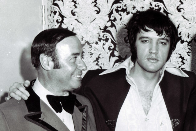 Emilio Muscelli, left, was the showroom maitre d' when the International, now the LVH, opened in 1969, where Barbra Streisand and Elvis Presley made $125,000 a week for opening what was then the ...