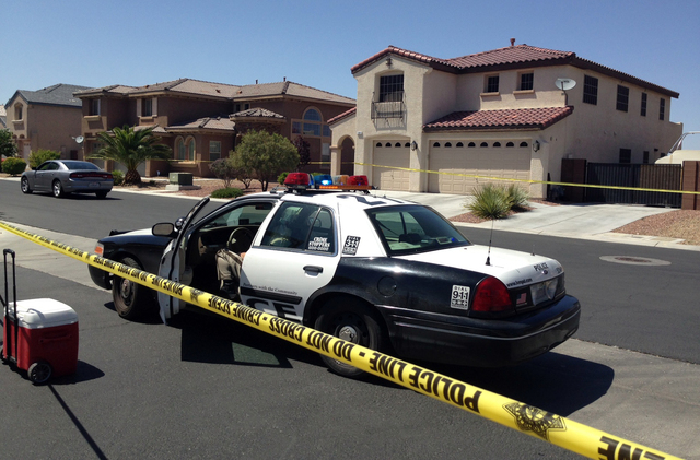 A person was found shot Monday in the south Las Vegas Valley, and police suspect it could be linked to a home invasion. Police responded to a call in the 11000 block of Ethan Brook Street — ...