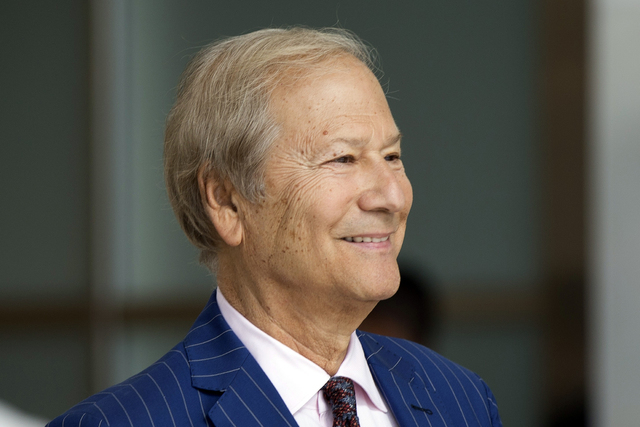 Businessman Lewis Katz arrives for a closed-door auction to buy the The Philadelphia Inquirer and Philadelphia Daily News in Philadelphia. Philadelphia Inquirer co-owner Lewis Katz is among the se ...
