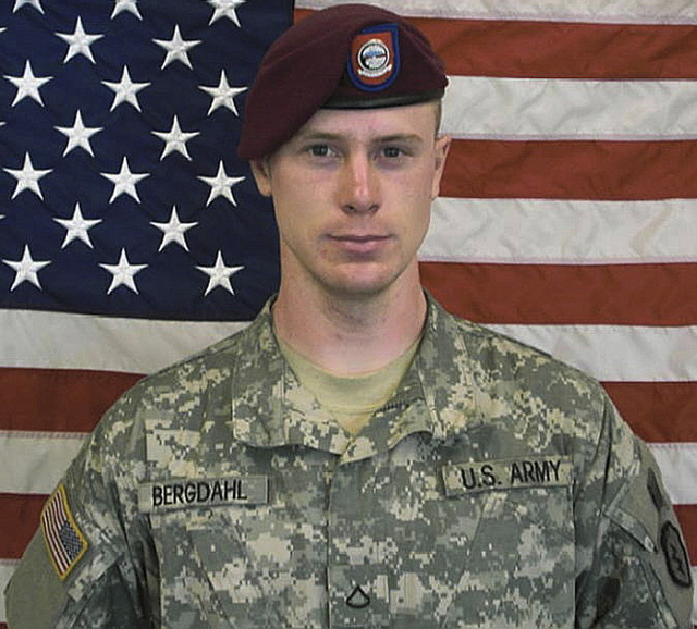 FILE - This undated file image provided by the U.S. Army shows Sgt. Bowe Bergdahl. A Pentagon investigation concluded in 2010 that Bergdahl walked away from his unit, and after an initial flurry o ...