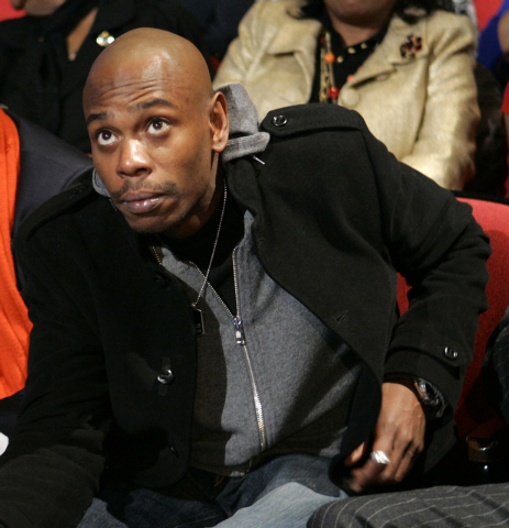 Comedian Dave Chappelle attends the Democratic presidential debate sponsored by CNN and the Congressional Black Caucus Institute, in Myrtle Beach, S.C. Chappelle says he never quit his Comedy Cent ...