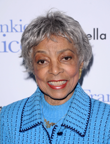 "Ruby Dee attends a special screening of ""Frankie & Alice"" in New York on Nov. 17, 2010. Dee, an acclaimed actor and civil rights activist whose versatile career spanned stage, radio television and ..."