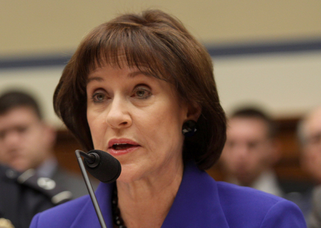 This March 5, 2014 file photo shows former Internal Revenue Service (IRS) official Lois Lerner speaks on Capitol Hill in Washington. The Internal Revenue Service has lost more emails connected to  ...