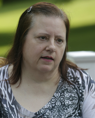 This Monday, June 16, 2014 photo shows Diane Conrad in North Canton, Ohio. A northern Georgia doctor running off-the-books adoptions in the 1950s and 60s placed infants with out-of-state parents w ...