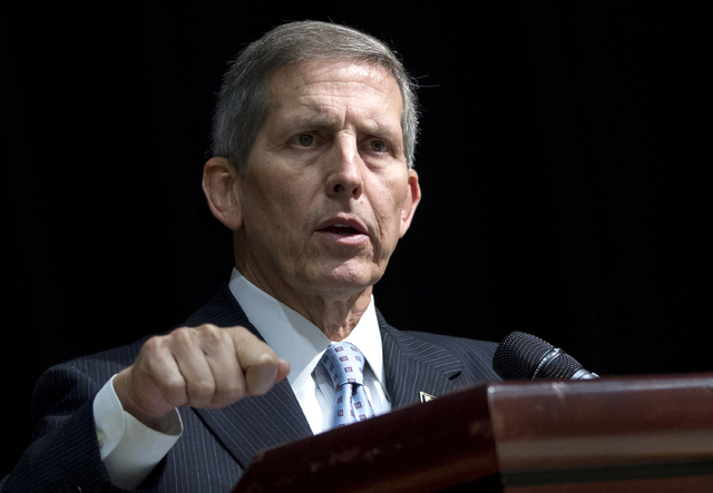Acting Veterans Affairs Secretary Sloan Gibson speaks in Washington on June 18, 2014. A top federal investigator said Monday that the Department of Veterans Affairs is risking patients' health by  ...