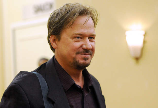 Frank Schaefer, a United Methodist Church pastor who was defrocked for officiating his son Tim's wedding to another man, arrives for a Methodist judicial panel appeal hearing on his defrocking in  ...