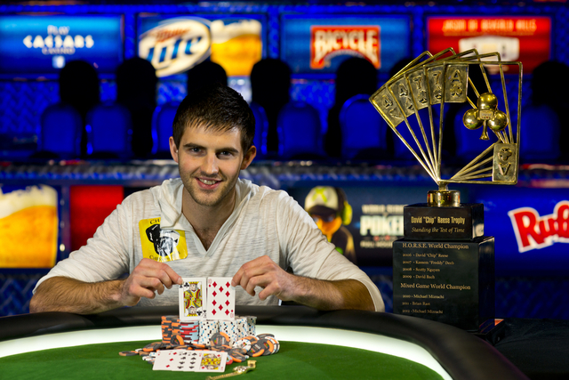 2013 WSOP Poker Players Championship Winner Matthew Ashton