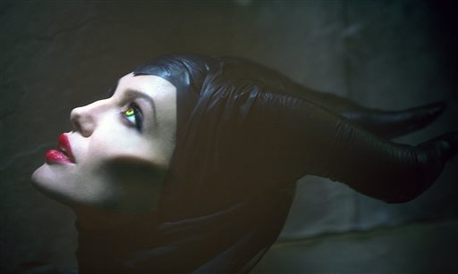 """This image released by Disney Enterprises, Inc., shows actress Angelina Jolie in the title role of """"Maleficent,"""" the villian from the 1959 classic """"Sleeping Beauty.""""  (AP Photo ..."""