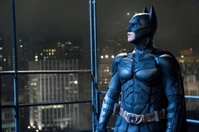 """Christian Bale plays Batman in Warner Bros.' """"The Dark Knight Rises,"""" more than an hour of which was filmed with IMAX cameras."""