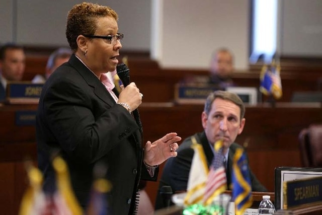 State Sen. Patricia Spearman of North Las Vegas is one of five openly gay lawmakers in the Nevada Legislature. All are Democrats and all are from Southern Nevada.