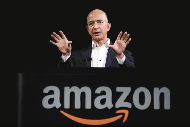Amazon.com founder Jeff Bezos (AP)