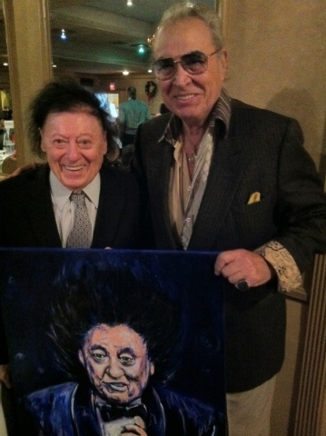 Allen and Rossi appear together in 2011. (Norm Clarke/Las Vegas Review-Journal)