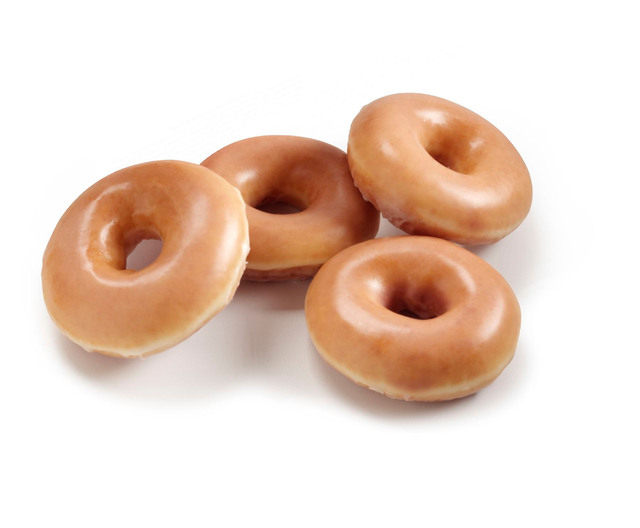 In celebration of National Doughnut Day on Friday, local outlets of Krispy Kreme Doughnuts are offering a free one to anyone who stops in. No purchase necessary.  (Courtesy)