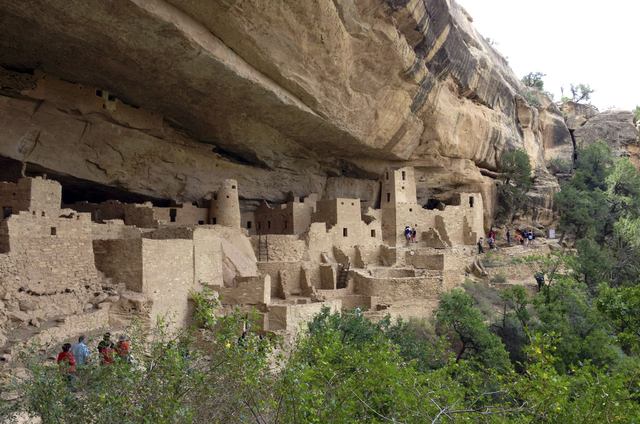 In Mesa Verde National park, two large fires in 2000 burned nearly 25,000 acres or roughly half the park. A 2011 report indicates that for every additional 1.8°F of temperature rise, the area bur ...