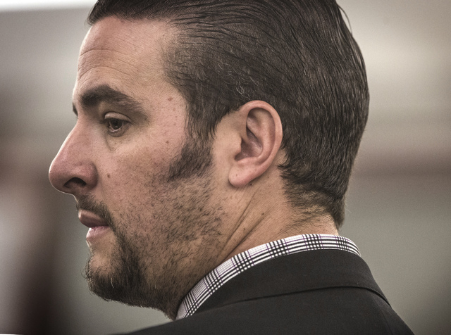 Brian Bloomfield, a member of the State Bar since 2003, pleaded guilty in District Court six months ago in a sweeping courthouse counseling scheme. (Jeff Scheid/Las Vegas Review-Journal)