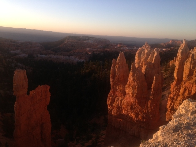 Bryce Canyon National Park at sunset. (ALAN SNEL/LAS VEGAS REVIEW-JOURNAL)