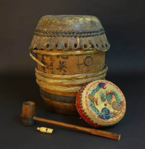 These handmade instruments are among the artifacts from early Chinese settlements in Nevada that are showcased at the Nevada State Museum in Carson City. (Courtesy of the Nevada State Museum)