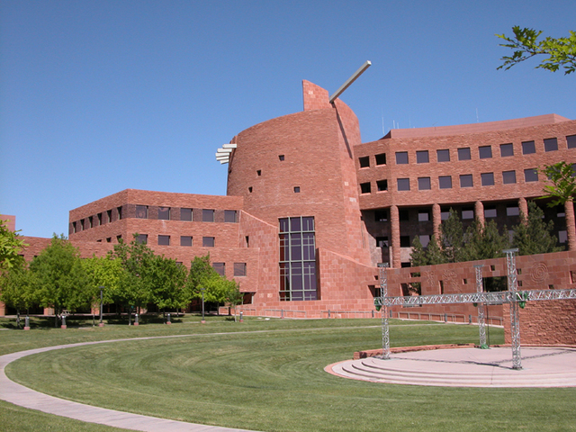 The Clark County Department of Family Services is planning for a new home at the Clark County Government Center campus on South Grand Central Parkway. (Las Vegas Review-Journal file)