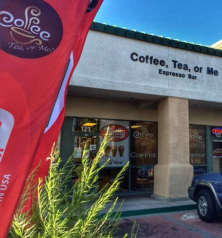 Coffee, Tea or Me? recently opened at 2600 W. Sahara Ave, Suite 121. (Fernando Lopez/Special to View)