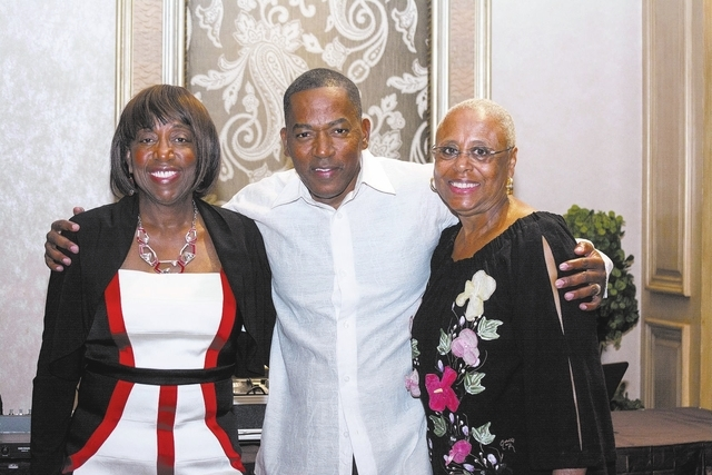 Alberta Mitchell, Lawrence Weekly and Peggy Selma (Celeste Vaughn Brown/Courtesy)
