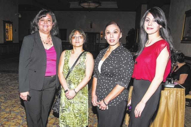 Estelina Garnett, Maria Abagat, Marcella Ollvares and April Rodriguez (Courtesy Claudio Ferreino)