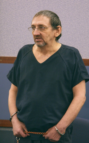 Charles Conner appears in Clark County District Court on June 30, 2010, for his trial in connection with the June 1985 sexual assault and slaying of Beth Lynn Jardine. Police found a DNA match to  ...