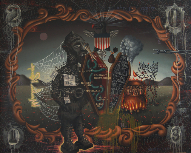 """Las Vegas-based artist Matthew Couper plans to present the art exhibit """"Horror Vacui"""" through July 18 at the Winchester Cultural Center Gallery, 3130 S. McLeod Drive. The exhibition is set to  ..."""