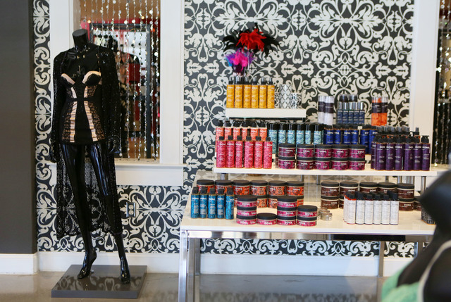 A display is shown at The Love Store located at 2100 S. Rainbow Blvd. Thursday, May 29, 2014, in Las Vegas. The Love Store is planning to open a third local store in Henderson. (Ronda Churchill/La ...