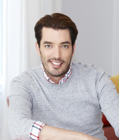 "Jonathan Scott teams with his twin brother, Drew, on HGTV's ""Property Brother"" and ""Brother vs. Brother."""