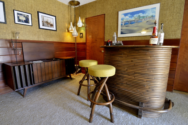 Bill Hughes/Las Vegas Review-Journal A room dedicated as a lounge is shown at the home of Dayvid Figler.