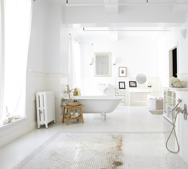 Courtesy Photo Give the bathtub, shower and tile floors a deep clean to remove tough build-up, leaving behind an all-over clean you can see.