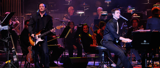 Southern Nevadan Michael Cavanaugh and his band return to Cabaret Jazz this weekend with a salute to two other piano guys: Billy Joel and Elton John. Courtesy photo.