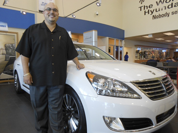 Planet Hyundai Sahara General Sales Manager Jason Laguna, a native of Austin, Tex., moved to Las Vegas August of 2012 to join the dealership at 7150 W. Sahara Ave. (Courtesy)