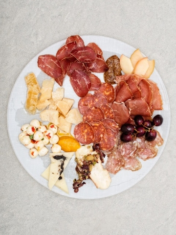 Giada at the Cromwell offers a variety of antipasti on its menu.