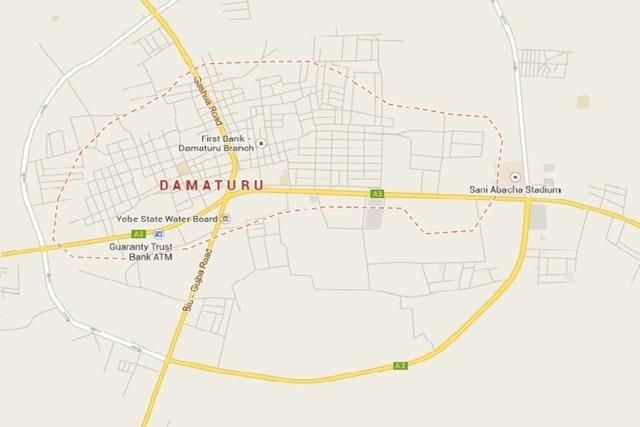 Damaturu, Nigeria (Google Maps)