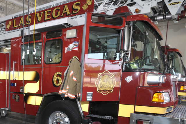 Las Vegas Fire Department (Bill Hughes/Las Vegas Review-Journal File)