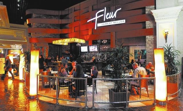 Patrons dine at Fleur at the Mandalay Bay Resort in Las Vegas on Oct. 20, 2012. (Jason Bean/Las Vegas Review-Journal)